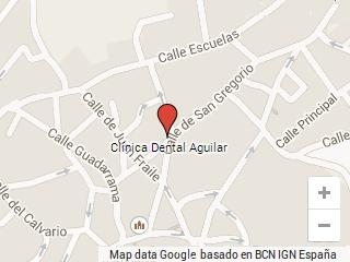 Mapa Clínica Dental Galapagar